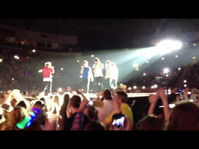 One Direction - Fresh Prince Of Bel-Air Rap - Belfast 2013