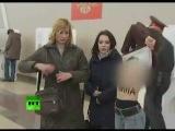 Сиськи письки 'Краду за Путина' на выборах!