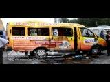 Пассажирка маршрутки погибла в ДТП с трамваем.