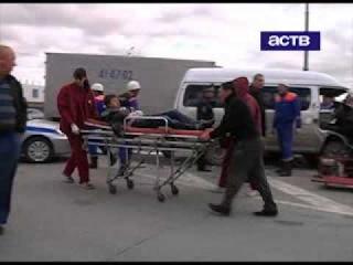 16.10.2012 - Крупное ДТП в Хомутово 2 человека погибли!
