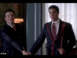 GLEE: Baby It's Cold Outside - Chris Colfer and Darren Criss [ FULL ]