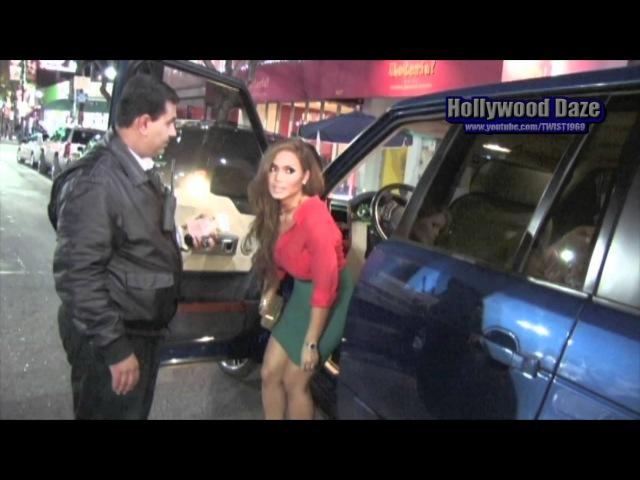 Daphney Joy Attends Jessica Burciaga B-day party,