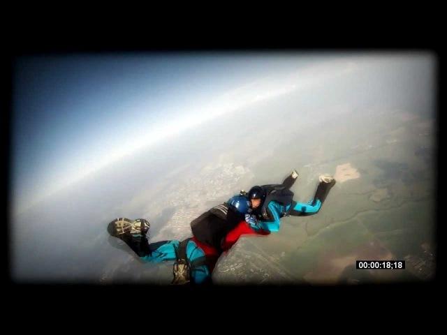Небесная стихия. City YO skydiving. J-sIron