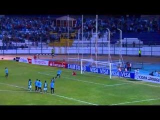 Deportes Iquique 1 (4) - (2) 1 León Copa Libertadores 2013