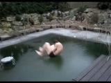 Jump through Ice-Pool Fail !