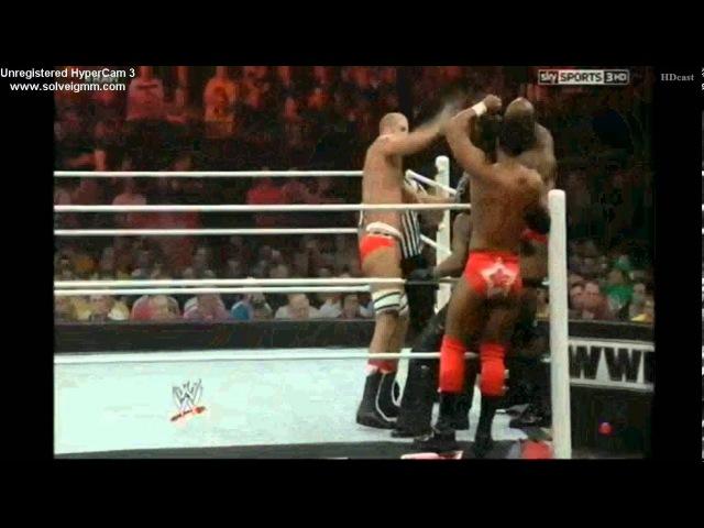 Rey Mysterio, Sin Cara R-Truth vs. Antonio Cesaro, Darren Young Titus O'Niel 11/5/12