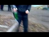 Первый карсар разорвал бутылку на морозе.mp4