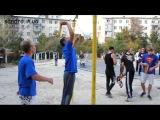 Street Workout Судак. Новый турник и спортсмены