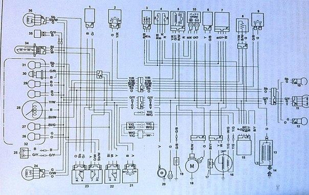 схема подключения прэм к