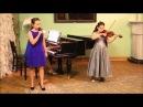 Дарья Склярова на Отчётном концерте Музыкальной школе Виртуозы
