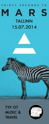 Thirty Seconds To Mars - Таллин - 15.07.2014