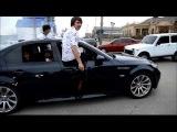 BMW M5 и Чеченские хлопцы С калашом гоняют по городу