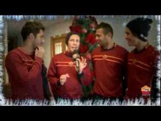 Поздравления с Рождеством от Ромы (римского клуба)