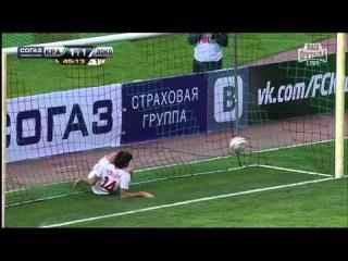 Футбол.Россия - Премьер-Лига.27-й тур.Краснодар - Локомотив 1:1 '45 Жоаозиньо