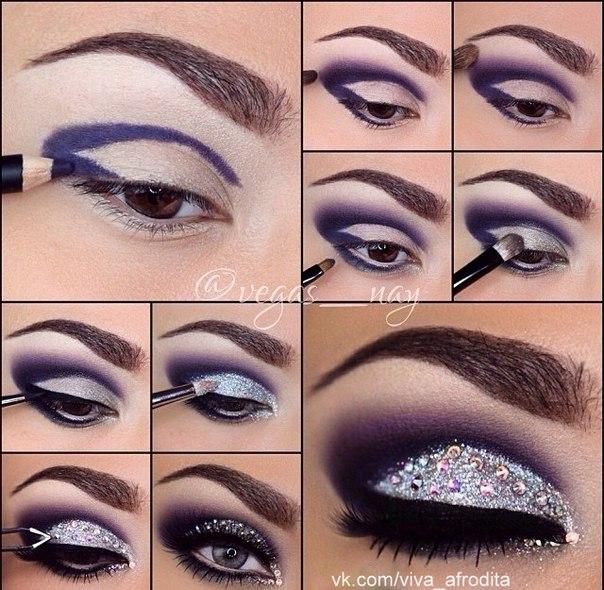 Вечерний арабский макияж