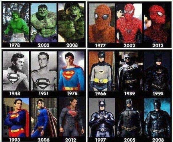По запросу супергерои марвел и дс