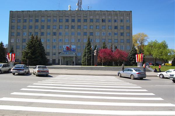 здание администрации Таганрога