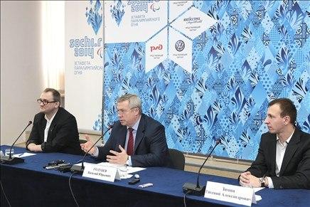 Василий Голубев презентовал маршрут эстафеты Паралимпийского огня в Таганроге!