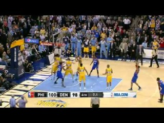 NBA CIRCLE - Philadelphia 76ers Vs Denver Nuggets Highlights
