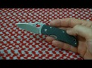 Мысли о ноже: Spyderco Michael Walker ZDP-189