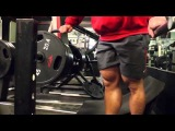 Nick Trigili training quads with Charles Glass - 17 weeks out from the 2012 USAS