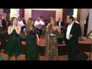 Manaf Agayev,Azeri kizi Gunel,Elton,Reqsane,Amina-Toyda deyishme.(Tovuz Ayan Palace)
