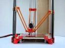 Rostock delta robot 3D printer prototype