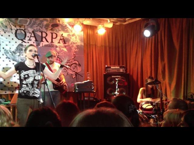 Qarpa - Can't UC (наживо у Jazzter, Харків)