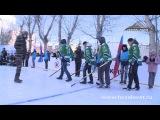 «Юлаевцы» поучаствовали в открытии хоккейной коробки