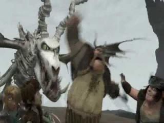 отвага в мульт.как приручить дракона 2.
