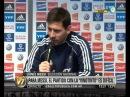 Visión 7 Messi comprometido y solidario