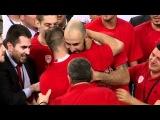 2012 Final Four MVP: Vassilis Spanoulis tears