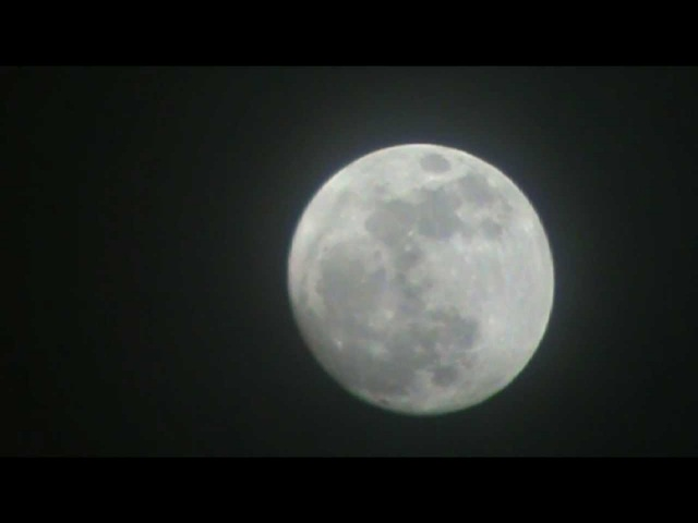 The Moon on 5-4-2012 Night before Perigee
