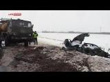 Двое судей погибли в ДТП на Урале из-за метели —