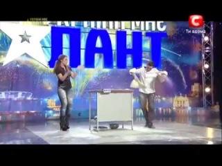 Україна має талант-5 сезон - Винченцо Дилилло (Пицца) Украина мае талант