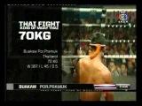 THAI FIGHT 8/9 Buakaw P.Pramuk VS Tomoyuki Nishikawa 70Kg. 25 Nov 2012
