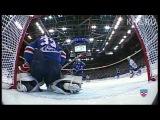 Ошибка Ильи Ежова / Ezhov lets the puck go through his legs