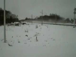 Украинский скоростной поезд производства КВСЗ