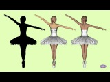 Which direction is the first ballerina rotating? Change it with brain power. Visual illusion.