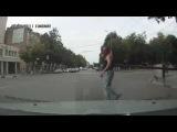 Поведение пешеходов на дорогах Воронежа