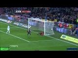 Барселона 2-1 Малага. Гол Пуйоля(30)