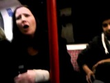 Racial, Verbal abuse on Central Line London Train 23.01.12 (Spread this video!!)