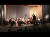 Рождественский концерт 2012 Оркестр Народных инструментов руководитель, дирижёр Александр Бакланов часть 1