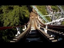 Thunderbolt Roller Coaster POV Kennywood Amusement Park Front Seat On-Ride