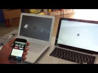 MacBook MC516 (2010) vs MacBook Pro MD101 (2012)