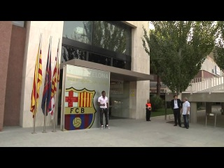 Alex Song First Presentation -FC Barcelona 20/08/2012 -