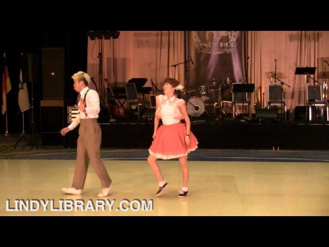 ILHC 2012 - Lindy Hop Classic - Soochan Lee Hyun Jung Choi