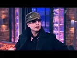 Marilyn Manson - Late Show with Ivan Urgant (2012)