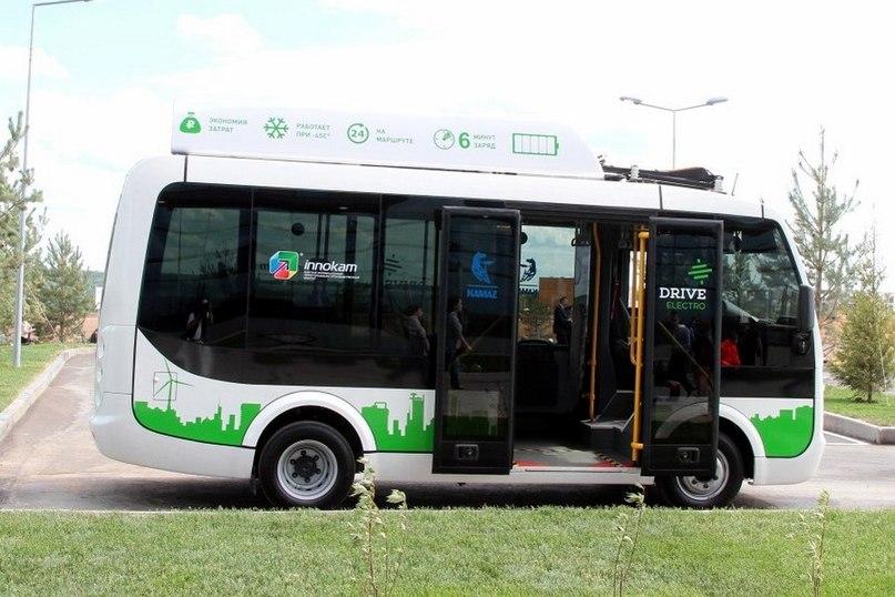 Прорвемся! Российский электробус КамАЗ-2257Э отправляется в Симферополь