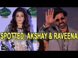 SPOTTED: Akshay Kumar & Raveena Tandon @ McDowell Signature Indian Derby